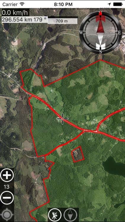 Outdoor GPS map