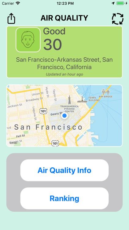 Check Air Quality Pollution screenshot-3