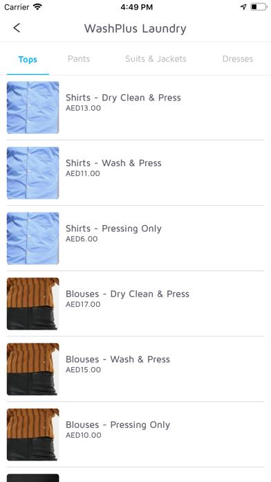 Washplus Laundry Customer screenshot four