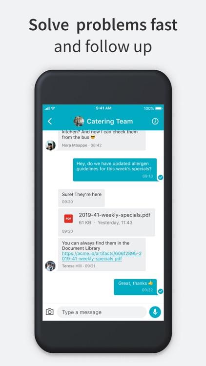 Beekeeper - Digital Workplace screenshot-4