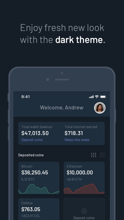 Celsius Network: Crypto Wallet screenshot-5