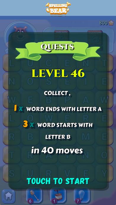 Spelling Bear :Honey Word Hunt screenshot 14