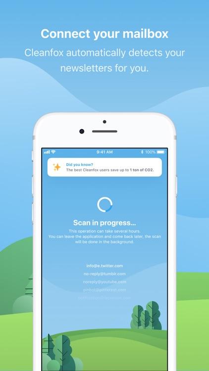 Cleanfox - Mail & Spam Cleaner screenshot-0
