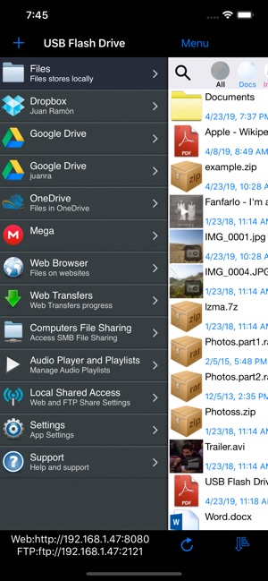 USB Flash Drive Lite on the App Store
