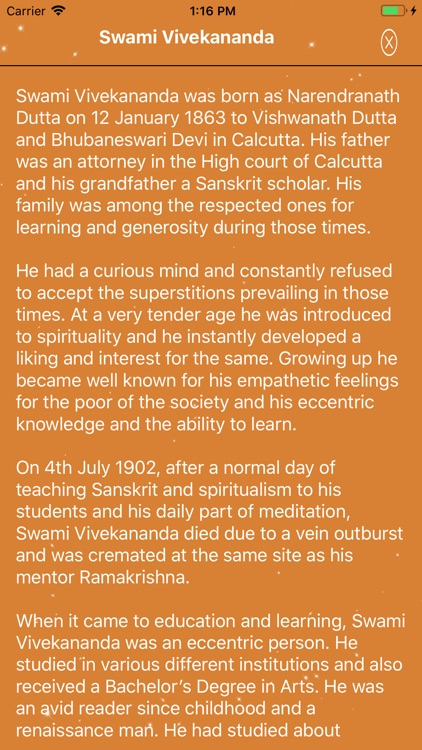 Swami Vivekananda Quotes App screenshot-6