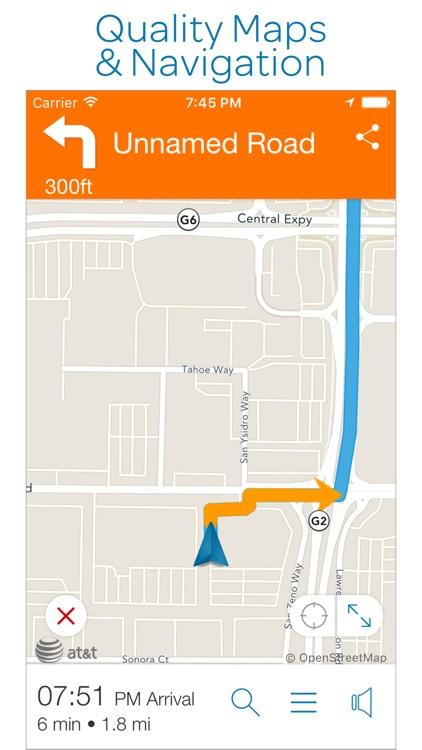 AT&T Navigator: Maps & Traffic screenshot-3