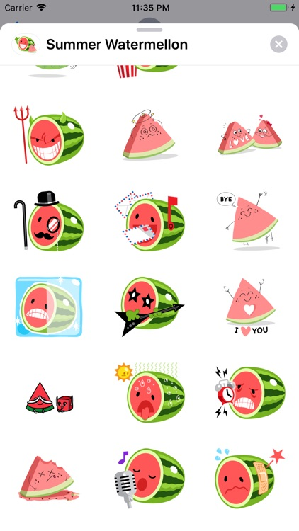 Summer Watermelon - Animated screenshot-3