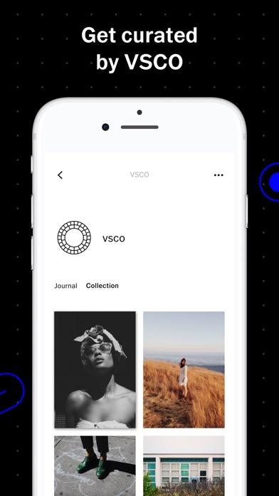 VSCO Screenshot on iOS