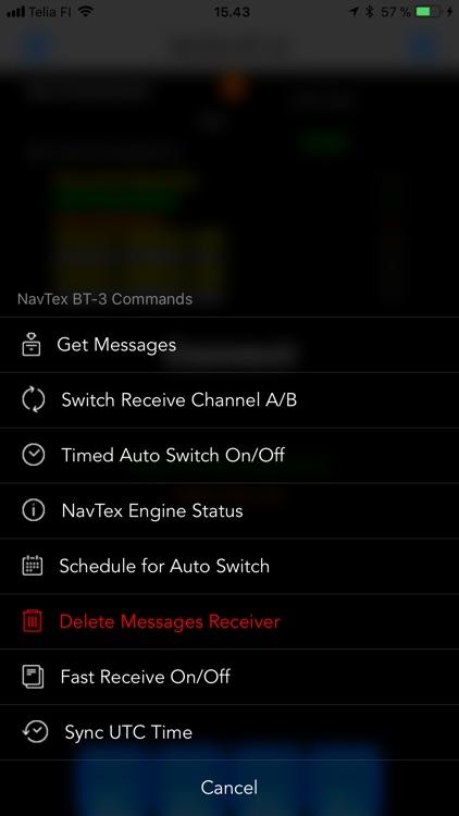 Nasa NavTex BT LE screenshot-3