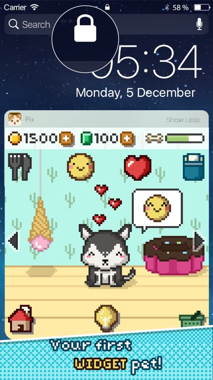 Pix! - Virtual Pet Widget Game screenshot-0