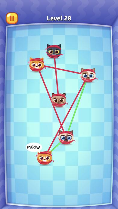 Knotty Cats screenshot 1