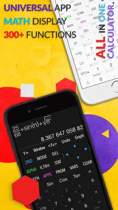 Screenshot for Calculadora Gráfica .CIE in Portugal App Store