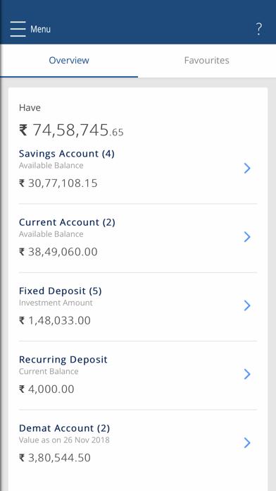 HDFC Bank MobileBanking screenshot four