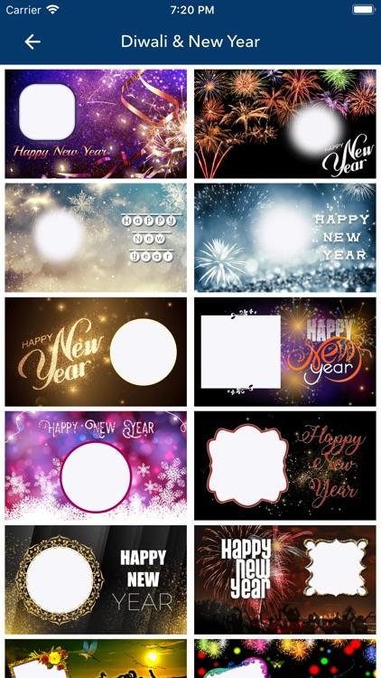 Diwali & New Year Pip Frames screenshot-7