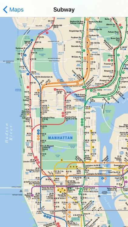 Exit Strategy NYC Subway Map screenshot-3
