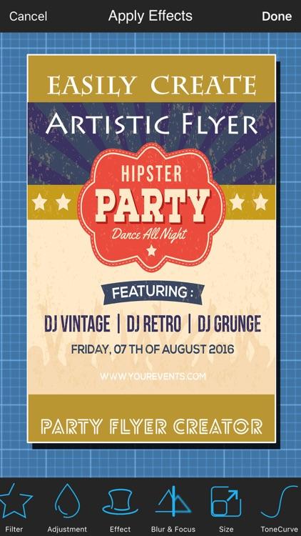 Party Flyer Creator screenshot-3