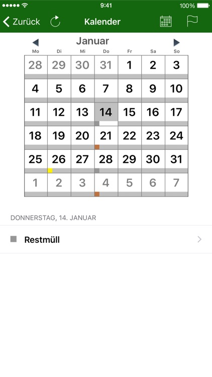 Abfall App OL screenshot-3