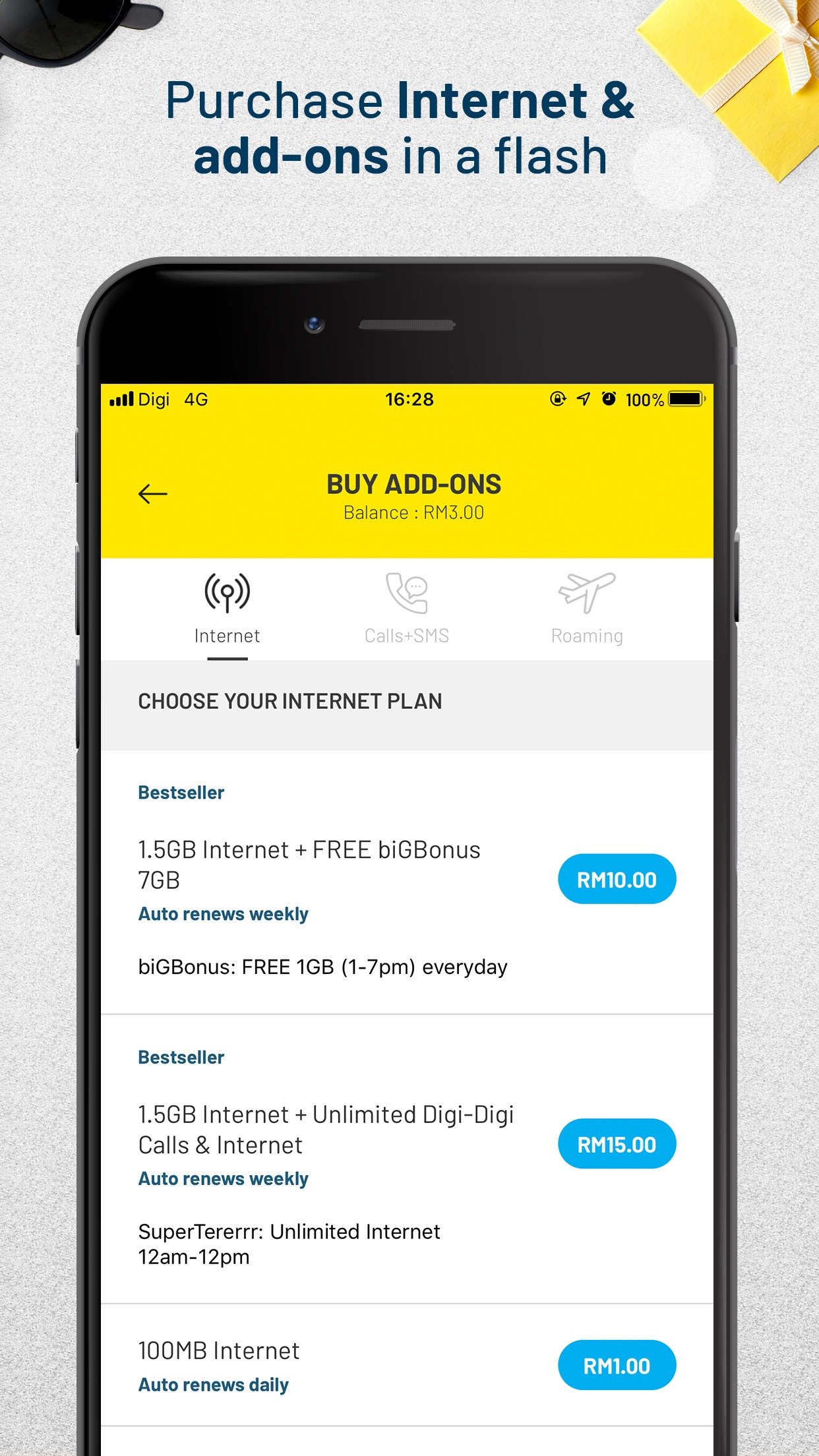 MyDigi Screenshot