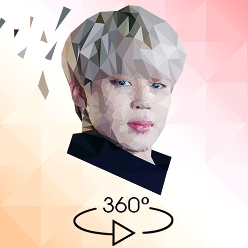 KPOP Poly Sphere: Low Poly