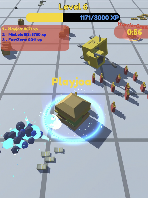 Food.io - Food Battle screenshot 1