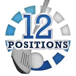 ゴルフスイングデザインバイブル 12 positions