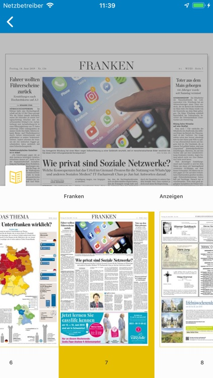 Main-Post ePaper screenshot-4