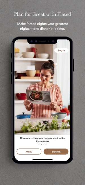 Plated on the App Store