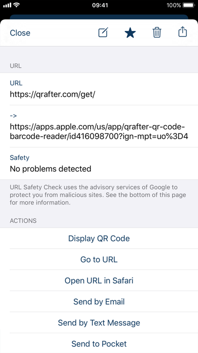 Screenshot for Qrafter Pro - QR Code Reader in Israel App Store