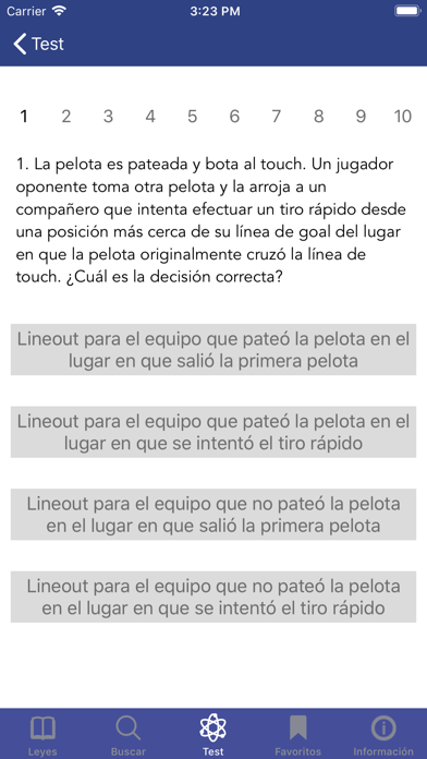 Screenshot for Leyes del Juego in Mexico App Store