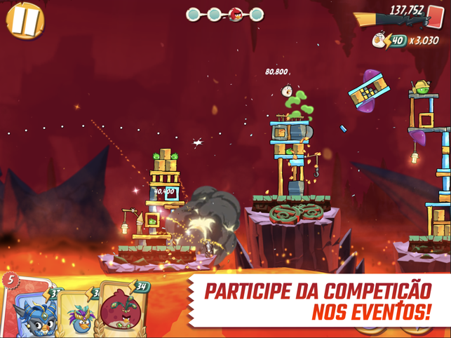 ‎Angry Birds 2 Screenshot