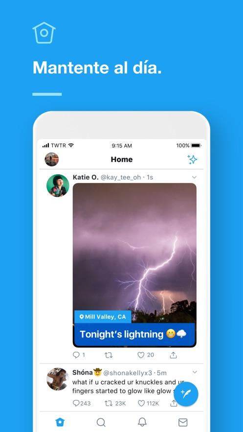 Twitter App 截图
