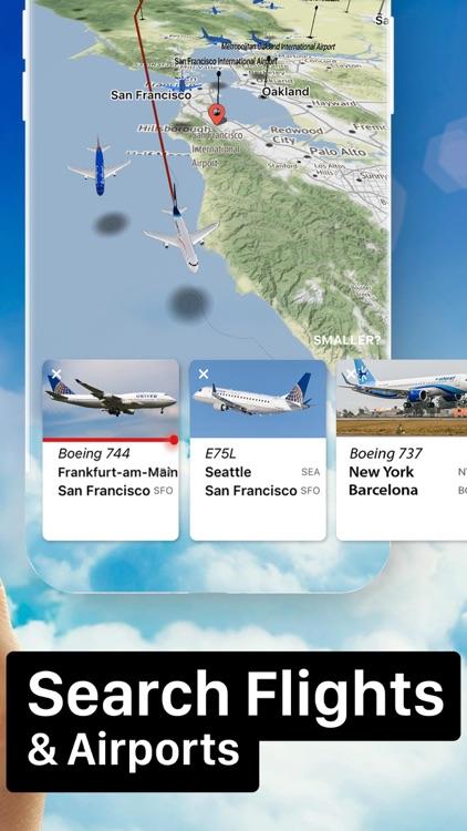 Flight Live: Flightradar 24 screenshot-4