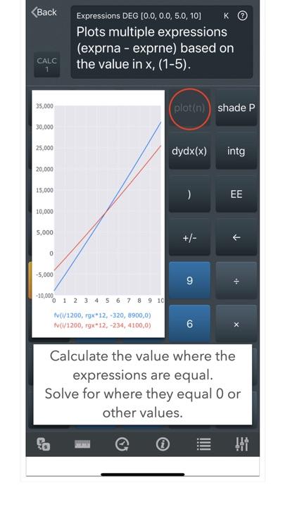 CALC 1 Graphing Calculator screenshot-3