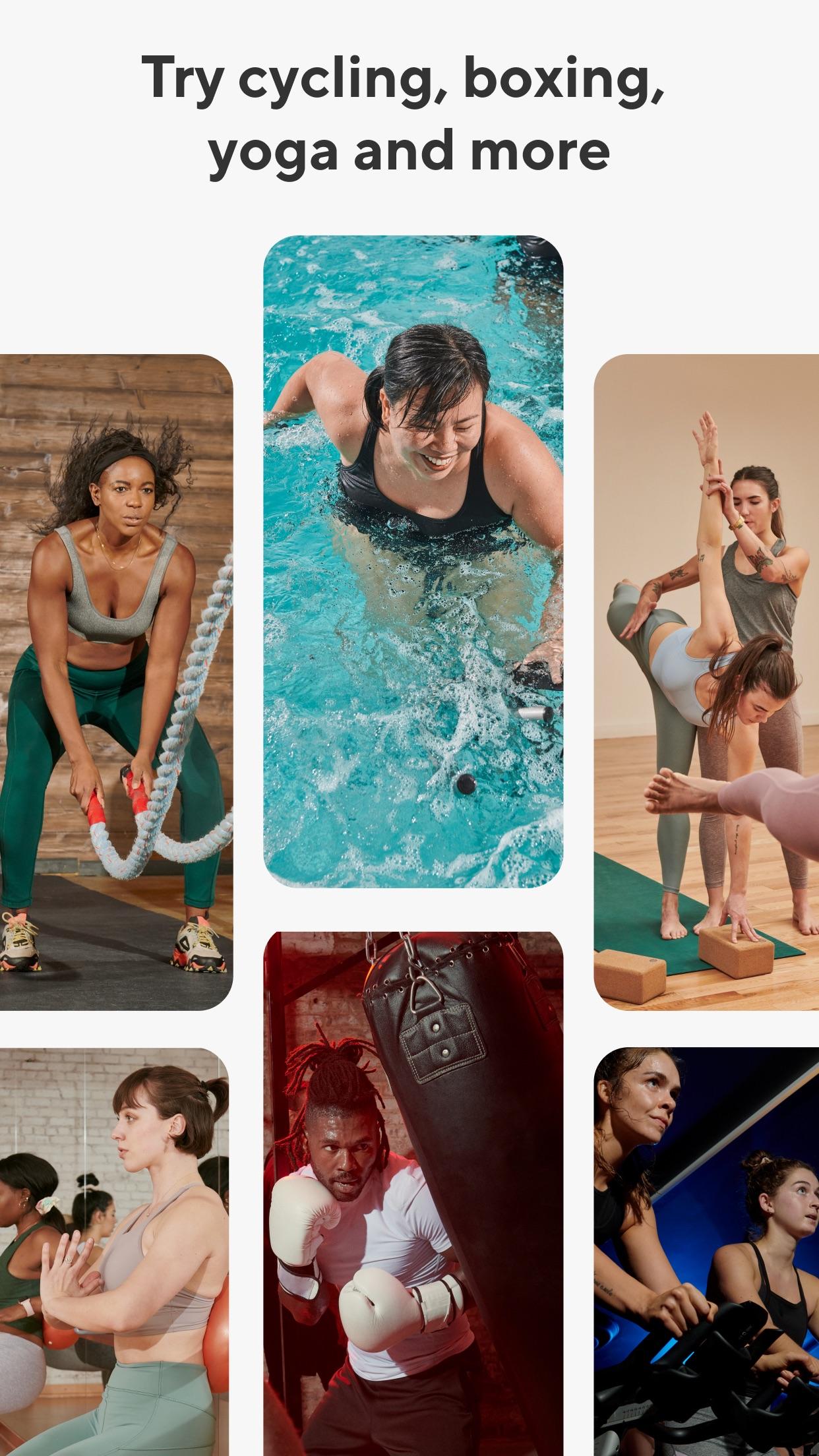 ClassPass: Fitness Workout App Screenshot