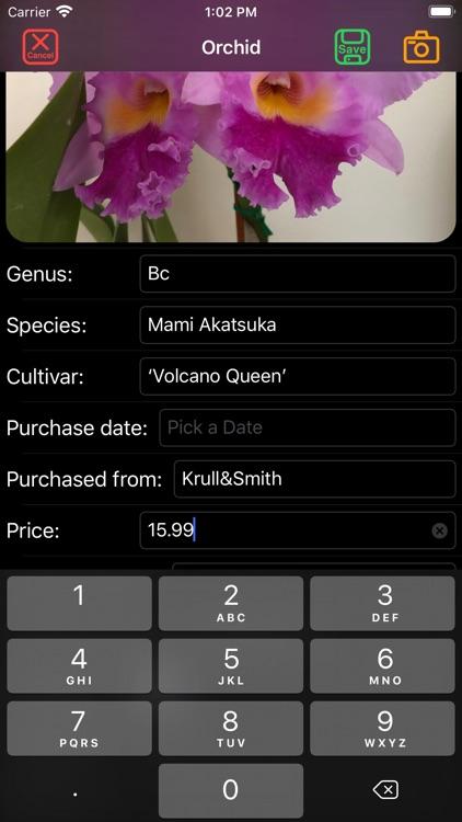 Orchid Catalog screenshot-8