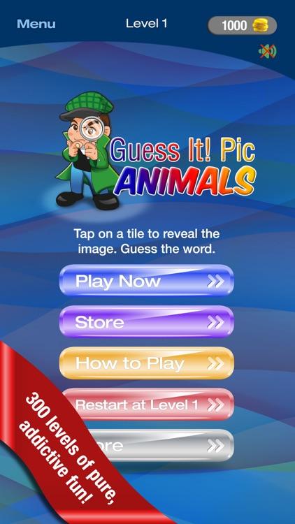 Guess It! Pic Animal Word Game screenshot-0