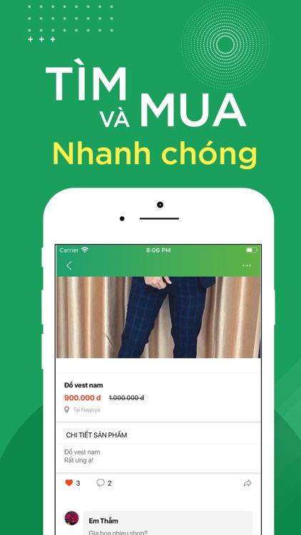 VietChat - rao vặt Việt Nhật screenshot-3