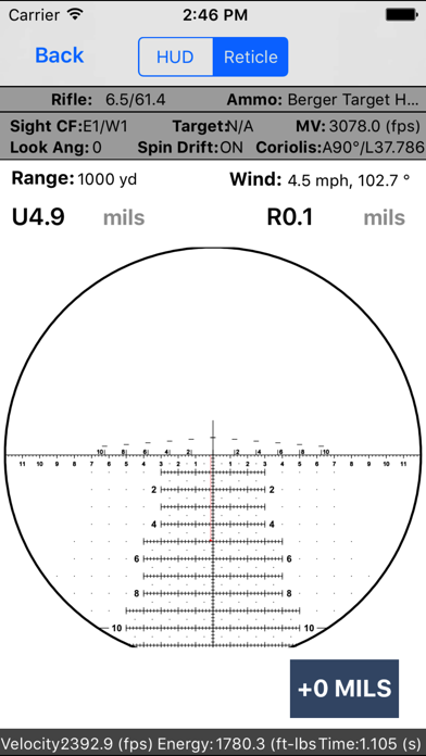 Applied Ballistics Screenshot