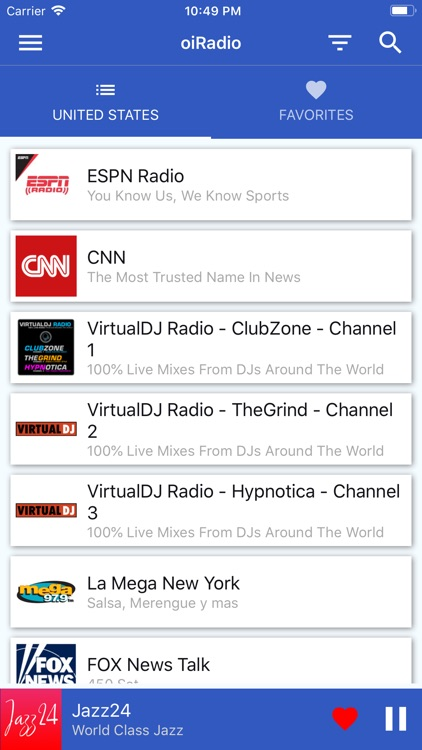 oiRadio - Live Radios