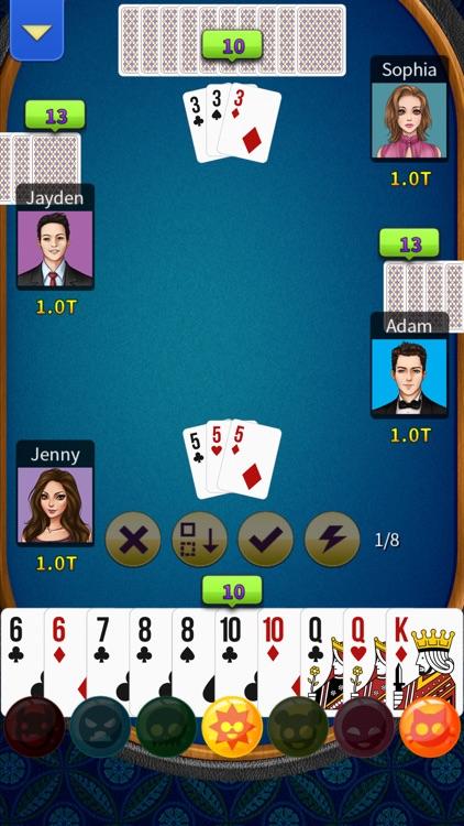 Big2 - KK Big 2 (No Ads) screenshot-6