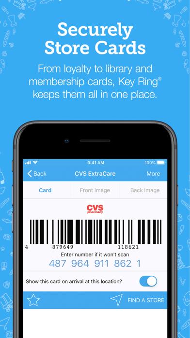 messages.download Key Ring Reward Cards software