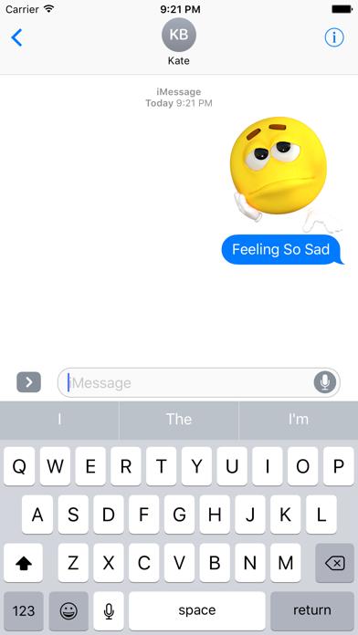 Funny Emoji Stickers screenshot three