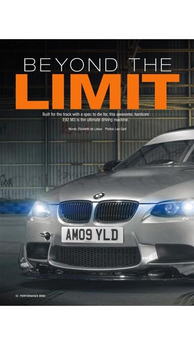 Performance BMW screenshot 3