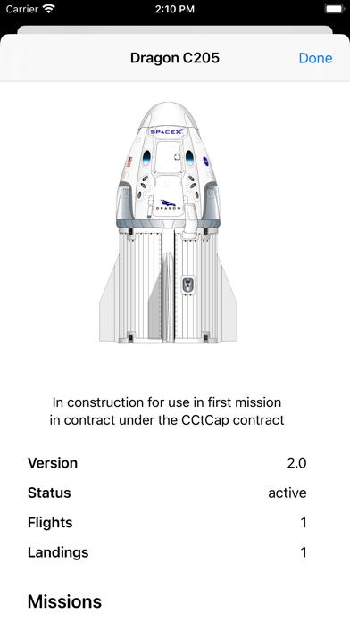 SpaceX Explorer screenshot 7