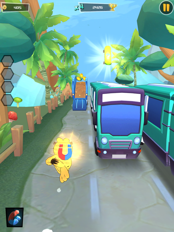 Garfield Run: Road Tour screenshot 8