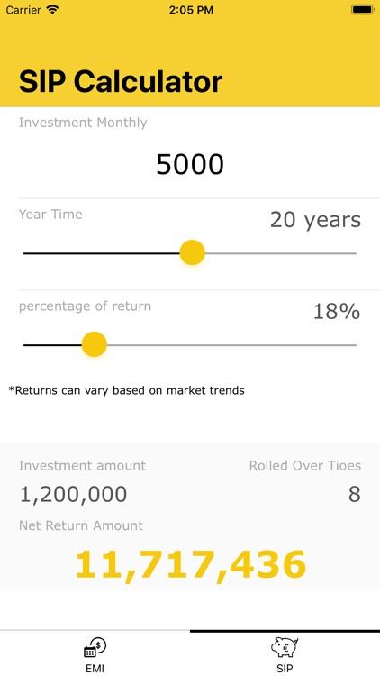 Finance-Calculator screenshot-4
