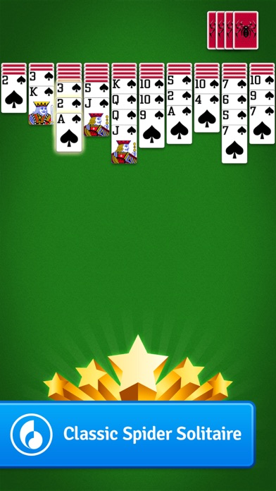 Spider Solitaire MobilityWare Screenshots