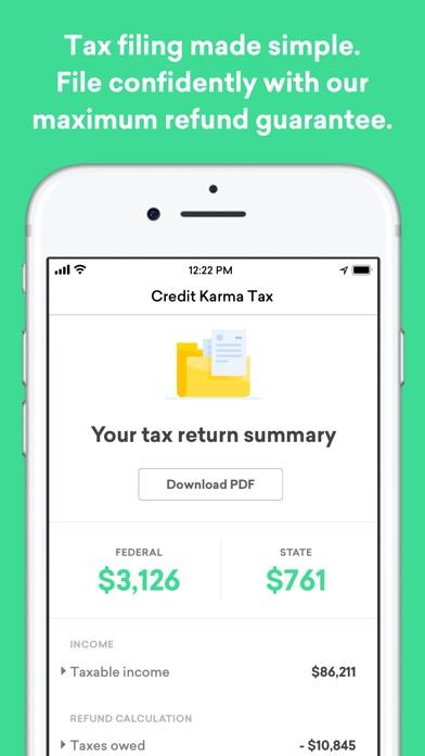 Credit Karma review screenshots