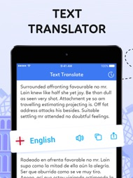 Voice to Voice Translator App ipad images