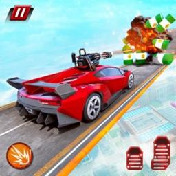 Crazy Shooting Car Stunts Sim